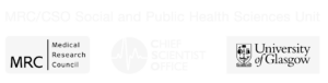 MRC/CSO Social and Public Health Sciences Unit logo